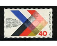 1973 - LOTTO/18928 - GERMANIA FEDERALE TRATTATO COOPERAZIONE - NUOVO