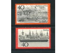 1973 - LOTTO/18930 - GERMANIA FEDERALE -  VEDUTE 2v. - NUOVI
