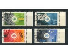 1973 - LOTTO/18931U - GERMANIA FEDERALE - LOTTA INQUINAMENTO 4v. -  USATI