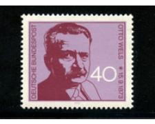 1973 - LOTTO/18933 - GERMANIA FEDERALE - OTTO WELS - NUOVO
