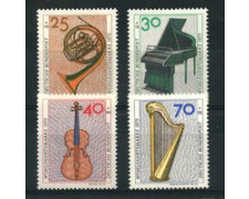 1973 - LOTTO/18935 - GERMANIA FEDERALE - STRUMENTI MUSICALI 4v. - NUOVI