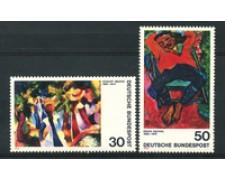 1974 - LOTTO/18944 - GERMANIA FEDERALE - ESPRESSIONISMO 2v. - NUOVI