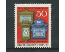 1974 - LOTTO/18946 - GERMANIA FEDERALE - CENTENARIO U.P.U. - NUOVO