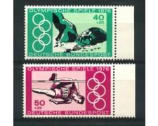 1976 - LOTTO/18975 - GERMANIA FEDERALE - OLIMPIADI MONTREAL  2v. - NUOVI