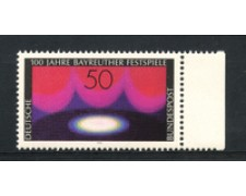 1976 - LOTTO/18979 - GERMANIA FEDERALE - TEATRO BAYEREUTH - NUOVO