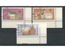 1978 - LOTTO/19002U - GERMANIA - EUROPA MONUMENTI 3v. USATI