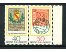 1978 - LOTTO/19007 - GERMANIA - GIORNATA FRANCOBOLLO 2v. - NUOVI