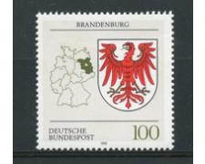 1992 - LOTTO/19020 - GERMANIA - 100p. STEMMA DI BRANDEBURGO - NUOVO