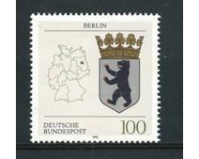 1992 - LOTTO/19025 - GERMANIA - STEMMA DI BERLINO - NUOVO