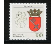 1992 - LOTTO/19028 - GERMANIA -  STEMMA DI BREMA - NUOVO