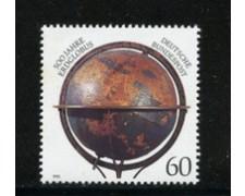 1992 - LOTTO/19029 - GERMANIA - MAPPAMONDO DI M. BEHAIM - NUOVO