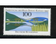 1992 - LOTTO/19032 - GERMANIA - CANALE MENO DANUBBIO - NUOVO