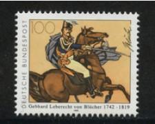 1992 - LOTTO/19036 - GERMANIA - MARESCIALLO WAHLSTATT - NUOVO