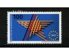 1992 - LOTTO/19039 - GERMANIA - MERCATO UNICO - NUOVO