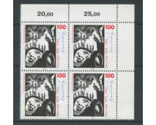 1993 - LOTTO/19069Q - GERMANIA - HANS LEIP - QUARTINA