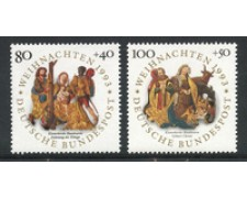 1993 - LOTTO/19075 - GERMANIA - NATALE 2v. - nuovi