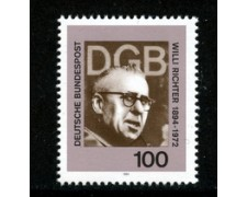 1994 - LOTTO/19099 - GERMANIA - WILLI RICHTER - NUOVO