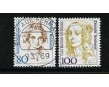 1994 - LOTTO/19100U - GERMANIA - DONNE CELEBRI 2v. - USATI