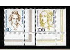 1994 - LOTTO/19100 - GERMANIA - DONNE CELEBRI 2v. - NUOVI