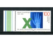 1995 - LOTTO/19115 - GERMANIA - CONRAD RONTGEN - NUOVO