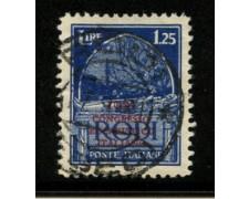1931 - LOTTO/19185 - EGEO - 1,25 L.  CONGRESSO EUCARISTICO - USATO