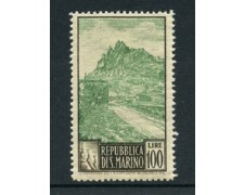 1949 - LOTTO/19192 - SAN MARINO - 100 LIRE PAESAGGI - LING.
