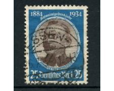 1934 - LOTTO/19197 - GERMANIA REICH - 25p. COLONIE TEDESCHE - USATO