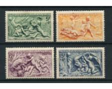 1949 - LOTTO/19200 - FRANCIA - LE QUATTRO STAGIONI 4v. - NUOVI