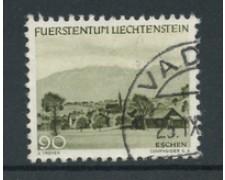 1944 - LOTTO/19229 - LIECHTENSTEIN - 90r. VERDE VEDUTE - USATO