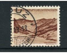 1944 - LOTTO/19230 - LIECHTENSTEIN - 1,20 VEDUTE VALUNA - USATO