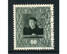1949 - LOTTO/19233 - LIECHTENTEIN  - 60r. QUADRI FOUQUET - USATO