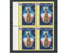 1994 - LOTTO/19434Q - SLOVENIA - VERGINE DI LORETO - QUARTINA