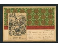 1902 - LOTTO/19473 -  CARTOLINA 5 GIORNATE DI MILANO