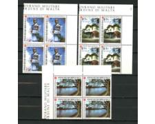 1988 - LOTTO/19514Q - SMOM -  ESPLORAZIONE  DI LUIGI DI SAVOIA 3V. -  QUARTINE