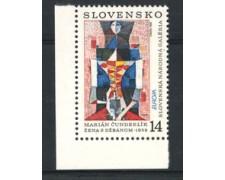 1993 - LOTTO/19548 - SLOVACCHIA - EUROPA ARTE 1v. - NUOVO