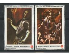 1988 - LOTTO/19561 - S.M.O.M. - NATALE 2v. - NUOVI