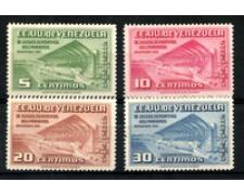 1952 - LOTTO/19570 - VENEZUELA - GIOCHI SPORTIVI 4v. P/A - NUOVI