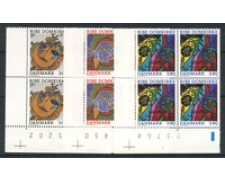 1987 - LOTTO/19606Q - DANIMARCA - CATTEDRALE DI RIBE 3v. - QUARTINE