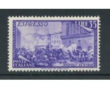 1948 - LOTTO/19644 - REPUBBLICA - ESPRESSO 35 LIRE RISORGIMENTO - NUOVO
