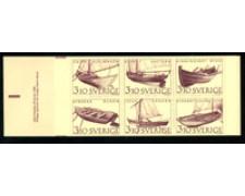 1988 - LOTTO/19650 - SVEZIA - IMBARCAZIONI 6v. LIBRETTO