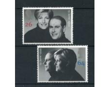 1999 - LOTTO/19873 - GRAN BRETAGNA - NOZZE 2v . NUOVI