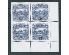 1994 - LOTTO/19935Q - STATI UNITI - GENERALE BURGOYNE - QUARTINA