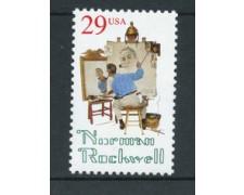 1994 - LOTTO/19936 - STATI UNITI - NORMAN ROCKWELL - NUOVO