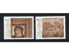 1988 - LOTTO/19984 - PORTOGALLO - VESTIGIA ROMANE 2v. - NUOVI