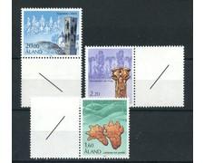 1986 - LOTTO/19999 - ALAND - SERIE STORICA 3v. - NUOVI