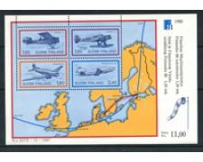 1988 - LOTTO/20003 - FINLANDIA - FINLANDIA 88 - FOGLIETTO