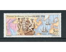 1987 - LOTTO/20005 - FINLANDIA - EMIGRANTI IN AMERICA - NUOVO