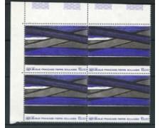 1986 - LOTTO/20122Q - OPERA DI SOULAGES - QUARTINA