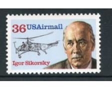1988 - LOTTO/20131 - STATI UNITI - P/A IGOR SIKORSKY - NUOVO