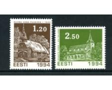 1994 - LOTTO/20231 - ESTONIA -  NATALE 2V. - NUOVI